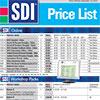 SDI Price List